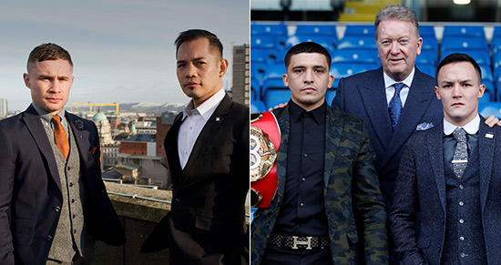 Frampton v Donaire, Selby v Warrington
