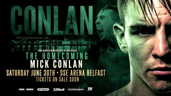 Michael Conlan The Homecoming