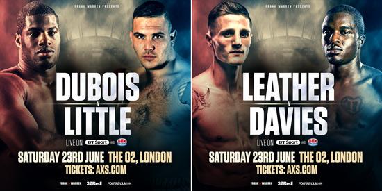 Dubois v Little, Leather v Davies
