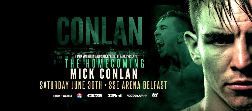 Mick Conlan Homecoming