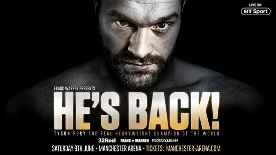 Tyson Fury - He's Back!