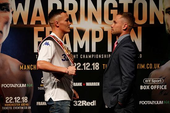 Warrington v Frampton Leeds Press Conference