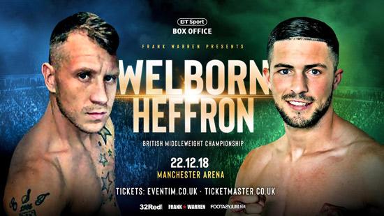Welborn v Heffron