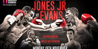Boy Jones Jr v Craig Evans