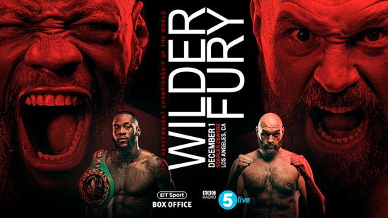 Wilder v Fury BBC Radio 5 Live