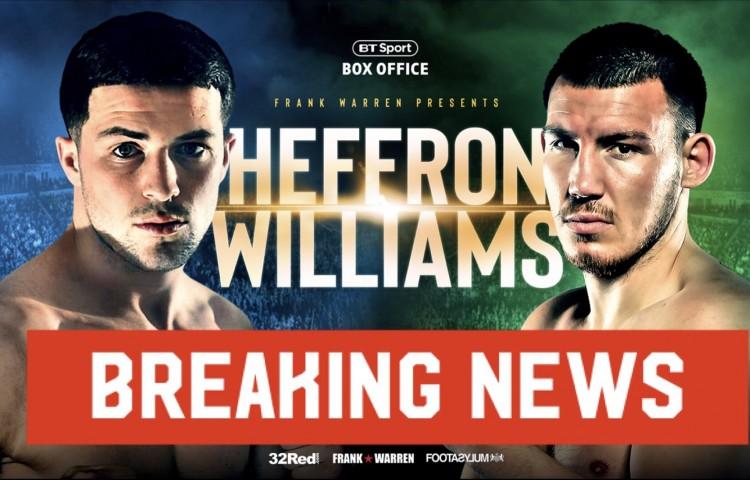 breaking heffron williams