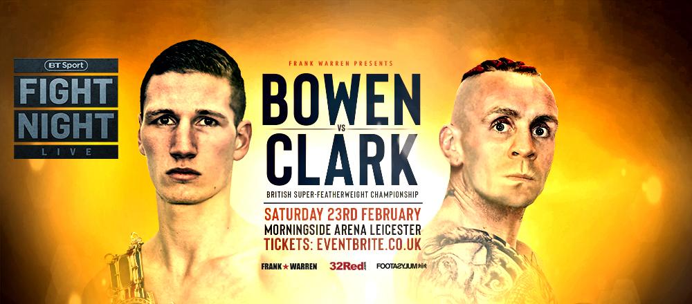 Bowen v Clark