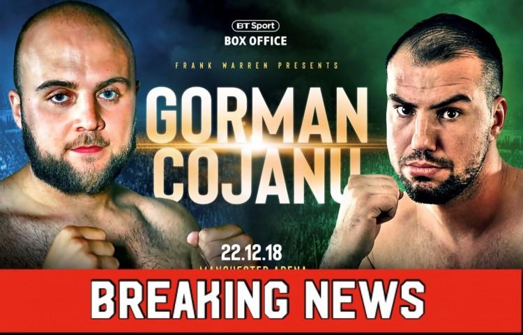 gorman breaking