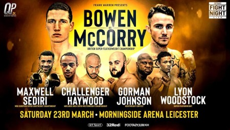Bowen v McCorry