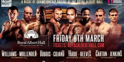 Championship Boxing at the Royal Albert Hall