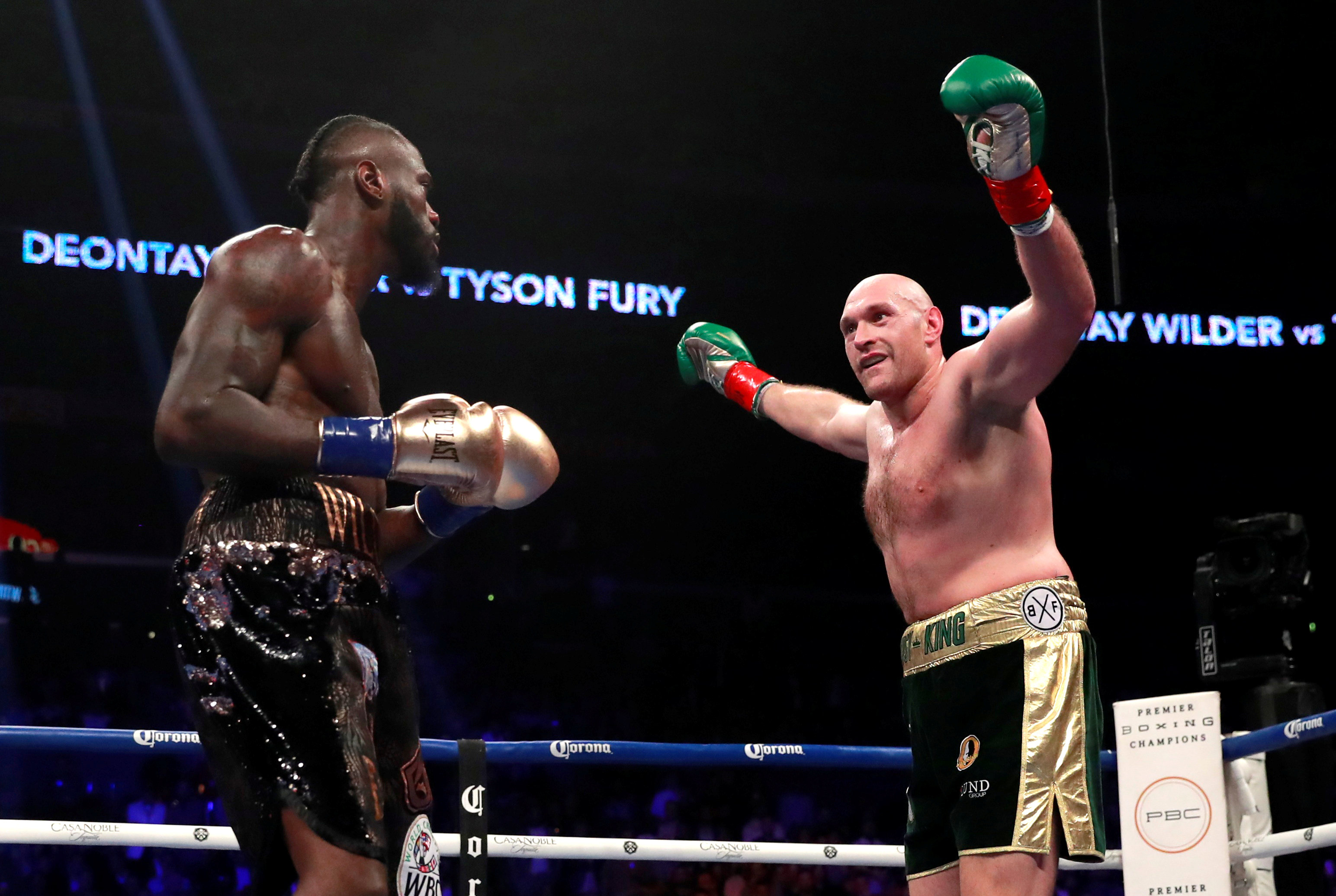 Deontay Wilder v Tyson Fury - WBC World Heavyweight Title