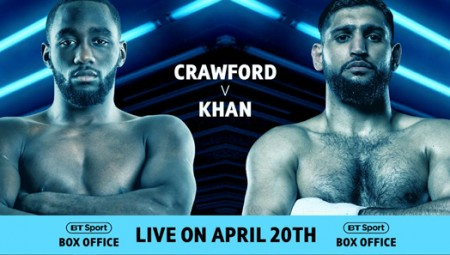 Crawford v Khan BT Sport Box Office