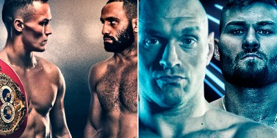 Warrington vs Galahad + Fury vs Schwarz