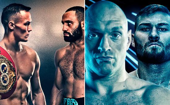 Warrington vs Galahad + Fury vs Schwarz