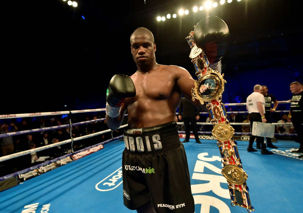 Daniel Dubois v Nathan Gorman - British Heavyweight Title