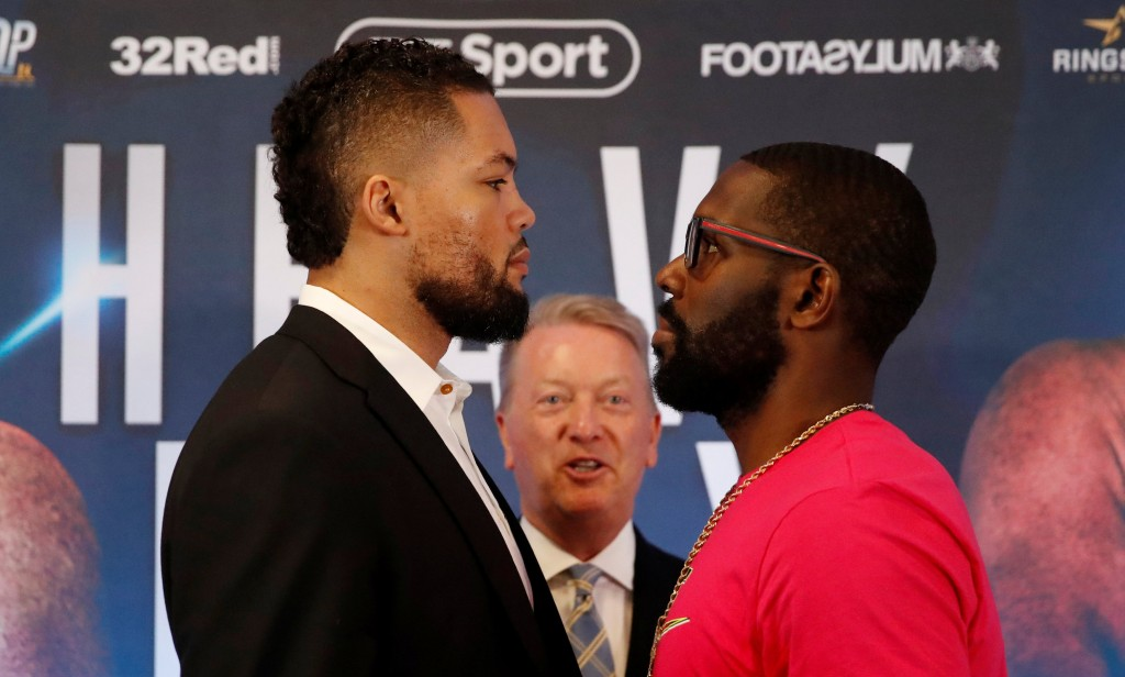 Joyce-Jennings face off
