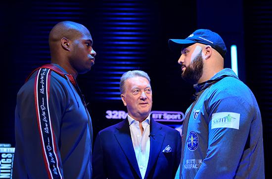 Dubois vs Gorman