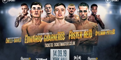 York Hall Boxing September 14th